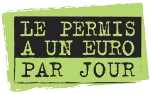 Logo permis 1€ jour